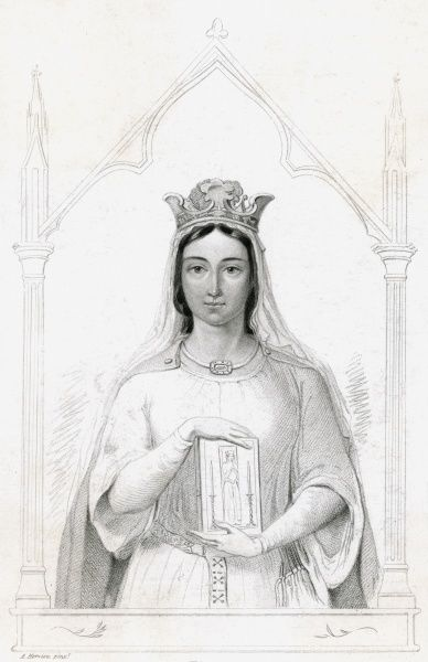 BERENGARIA (1165 - 1230) Daughter of Sancho VI of Navarre, she became the Queen of Richard I of England while he was crusading