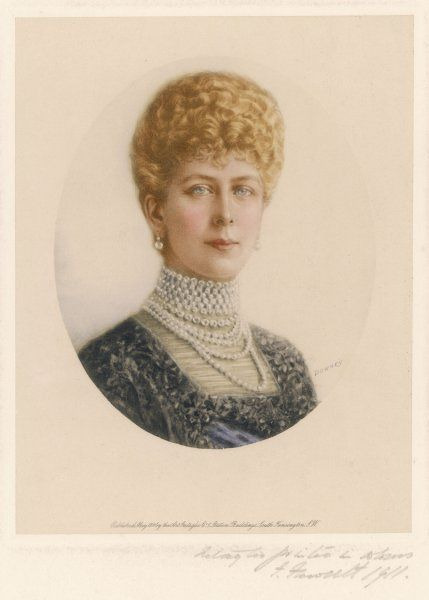 QUEEN MARY Wife of George V in 1911