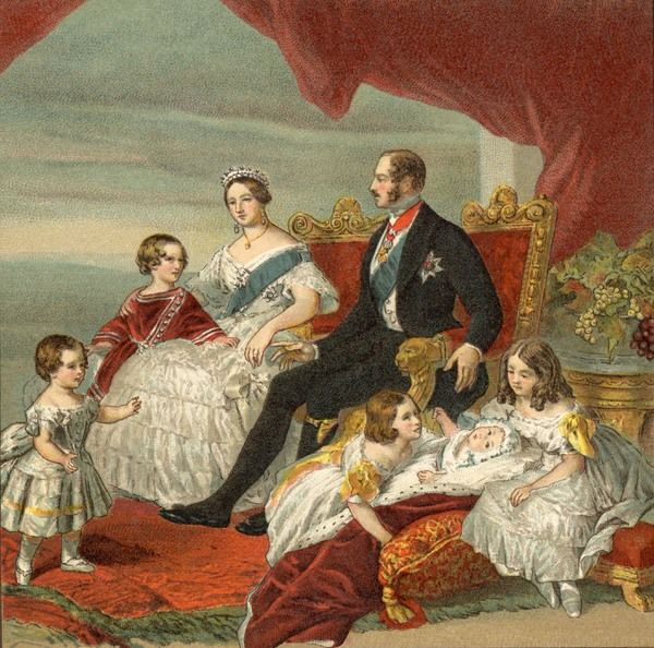 QUEEN VICTORIA With family