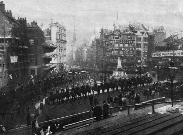Queen Victoria Diamond Jubilee 1897 - the rehearsal for the service at St Paul's Cathedral. Date: 1897
