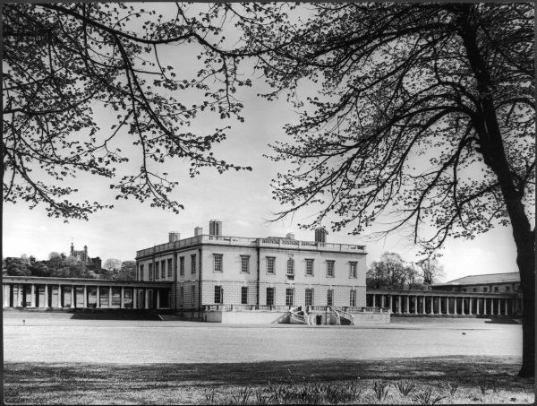 A view of the Queen's House Greenwich. Built by Inigo Jones in the early 17th century for Anne of Denmark