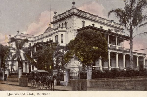 Queensland Club, Brisbane, Queensland, Australia