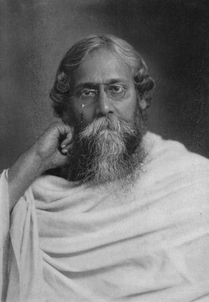 SIR RABINDRANATH TAGORE Indian writer Date: 1861 - 1941