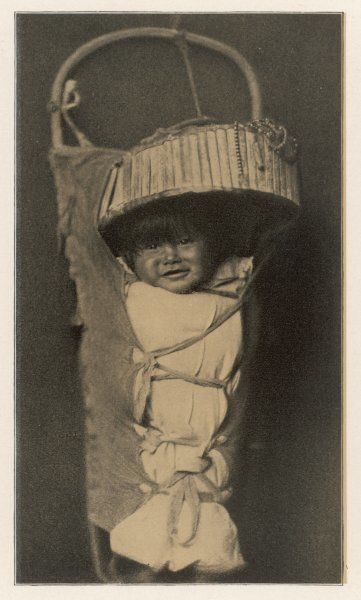 An Apache baby in its carrying case