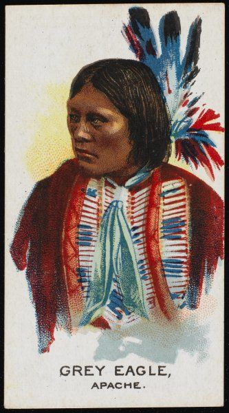 Grey Eagle: Chief of the Apache tribe
