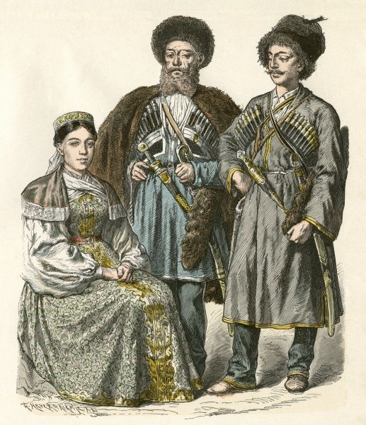 Three Cossacks from the Black Sea Date: 19th century