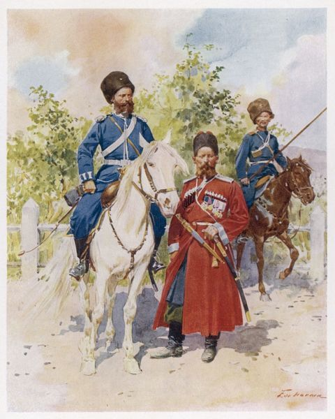 Cossacks of the Guard & Imperial bodyguard
