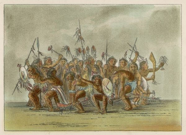 Victory / Scalp dance of the Sioux people