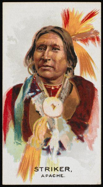 Striker: Chief of the Apache tribe