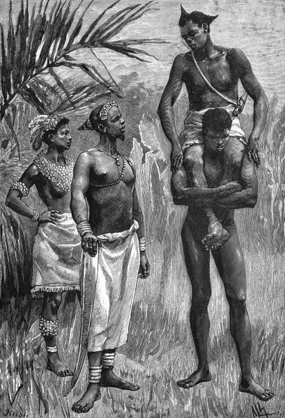 Group of Kalundas (Bantu peoples)