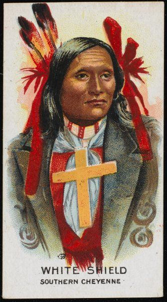 White Shield: Chief of the Southern Cheyenne tribe