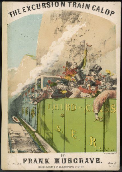 'THE EXCURSION TRAIN GALOP&#39