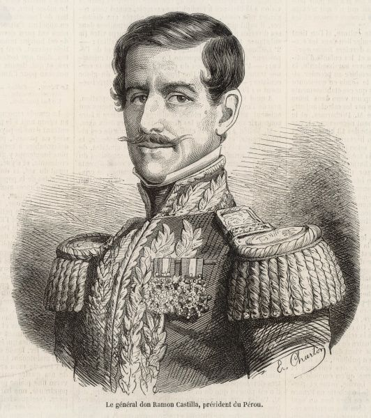 RAMON CASTILLA Peruvian general and President