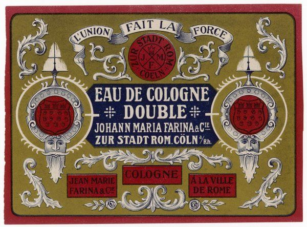 This Eau de Cologne really does come from Cologne, though why it's called 'double' we can't say