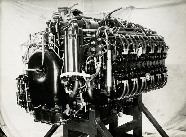 Rear equipment of the Sabre VII engine Date