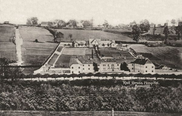 The Red Cross Hospital at Avoncliff, Wiltshire, formerly the Bradford-on-Avon Union workhouse. The site was sold in 1923 and became the Old Court Hotel