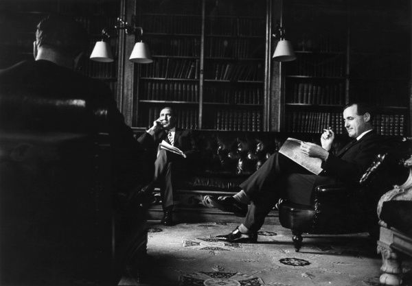 The smoking room of the Reform Club on Pall Mall, London in 1969. The Reform Club was founded in 1836, in Pall Mall, in the centre of what is often called Londons Clubland. The founders commissioned a leading architect of the day, Charles Barry