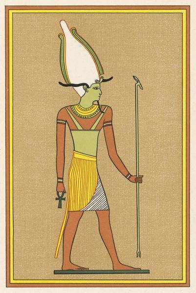One of the names given to this god of the underworld and of vegetation is OSIRIS-UNNEFER, which seems to signify something like opening or manifesting