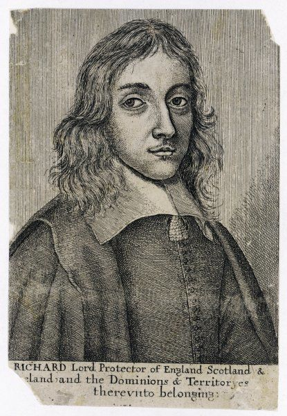 RICHARD CROMWELL Lord Protector Son of Oliver Cromwell