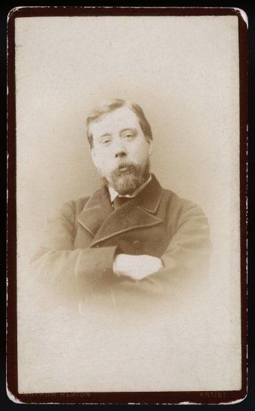Portrait of Richard Pankhurst taken in a Manchester studio at around the time of his marriage to Emmeline Goulden