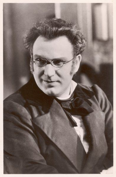 RICHARD TAUBER Austrian opera singer based in Britain, in the role of the composer Franz Schubert in 'Blossom Time&#39