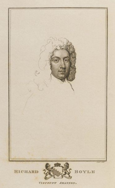 RICHARD BOYLE, third and last viscount SHANNON soldier and statesman