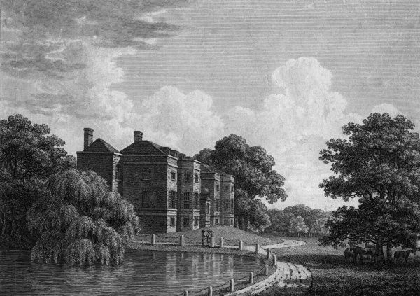 Richmond Park Lodge, the residence of Philip Medows Esq Date: circa 1790