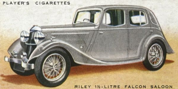 Riley 1.5 litre Falcon saloon, Date: 1936