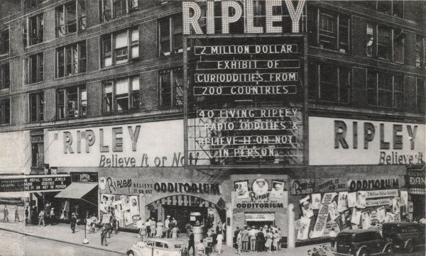 Ripley Odditorium, New York, America at 48th street and Broadway
