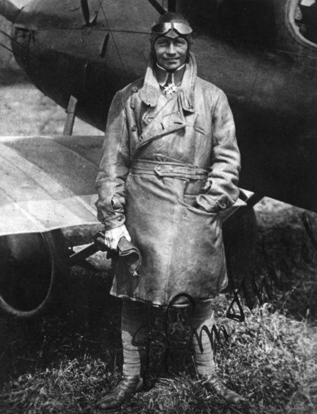 Eduard Ritter von Schleich (18881947) - a high scoring Bavarian flying ace of World War I, credited with 35 aerial victories by the end of the war