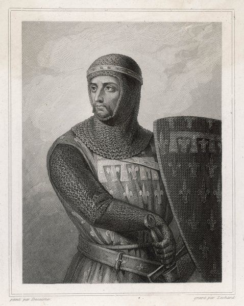 ROBERT DE FRANCE, comte d'ARTOIS brother of Louis IX, military leader