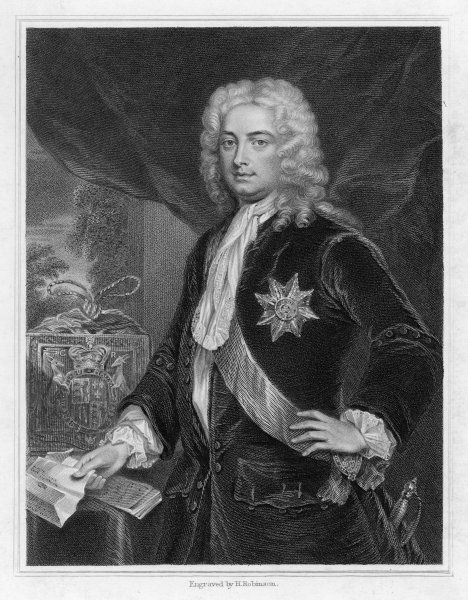SIR ROBERT WALPOLE 1st Earl of Orford English statesman - Whig MP