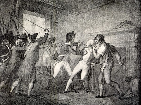 The arrest of Robespierre. Date: 28 July 1794