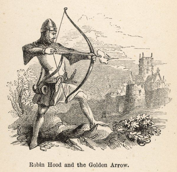 Robin and the Golden Arrow