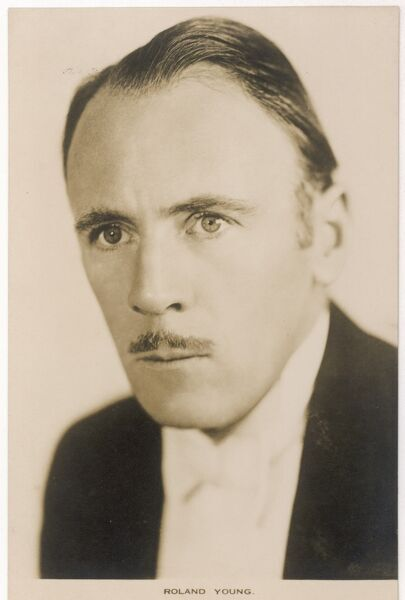 ROLAND YOUNG English character actor
