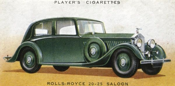 This is RR's 'cheap' model, but still a superb combination of high performance with luxury travel. Date: 1936