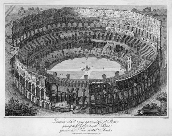 The four-storey structure had a moveable canopy, a safety net to protect the audience, a network of underground tunnels, and floors that could flood for mock sea battles!