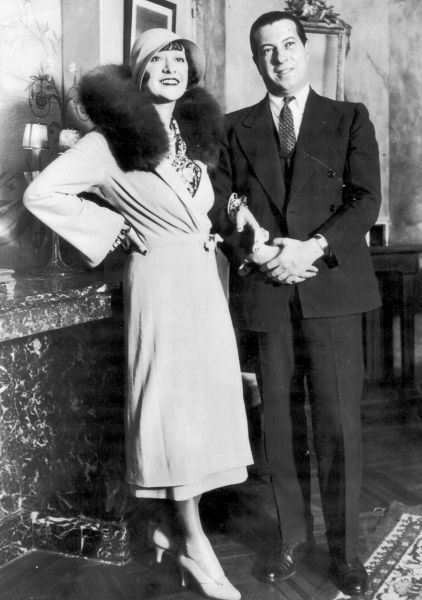 Rosie Dolly and Irving Netcher in Paris en route for New York to be married by Mayor James J. Walker, a close personal friend, March 1932