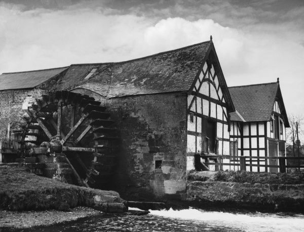 Rosset watermill, near Chester, Cheshire, England