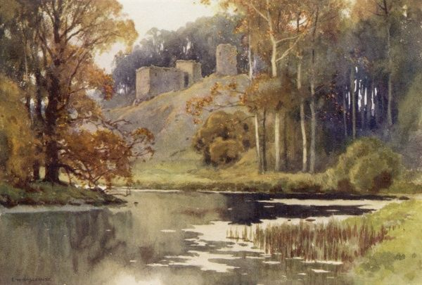 Roxburgh Castle Date: early 20th century