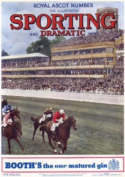 Cover of the Royal Ascot Number of the Illustrated Sporting and Dramatic News, 12th June 1936. Date: 1936