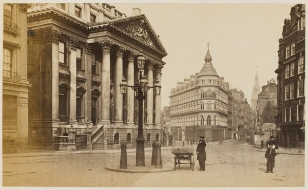 The Royal Exchange - Queen Victoria Street - Cheapside