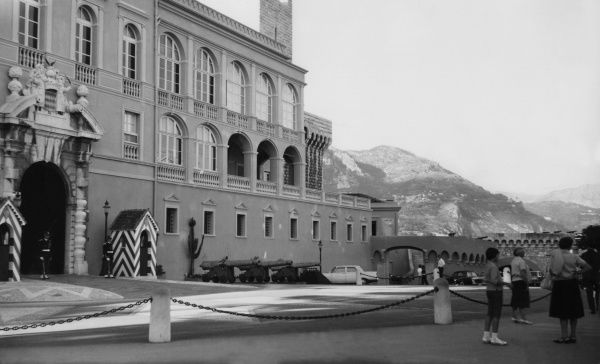 The grounds of the Royal Palace at Monte Carlo, Monaco, France. Date: 1960s