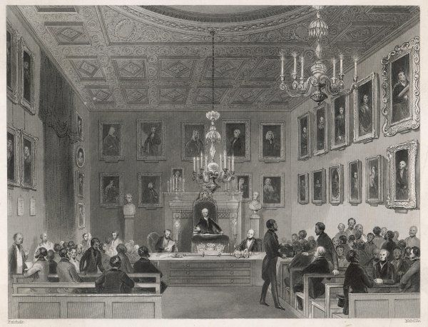 A meeting at Somerset House, London