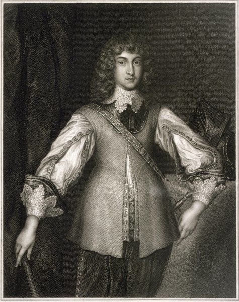 PRINCE RUPERT OF THE RHINE son of Friedrich V and Elizabeth Stuart Royalist general