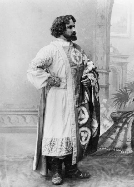 Mikhail Glinka - Ruslan and Ludmilla, 1842 The part of Ruslan as performed by A. V Tomsky (Moscow Private Opera, 1902) Date: 1902