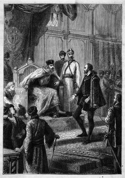 The English seaman Richard Chancellor is received by tsar Ivan IV. Their meeting results in a trade agreement between Russia and England