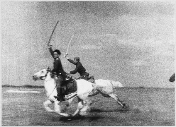 The Red Army Cavalry at full speed