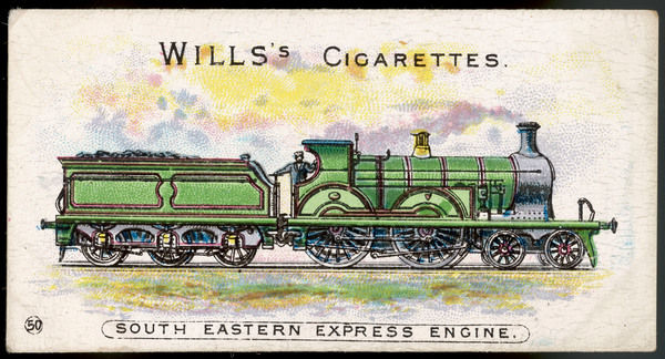 South Eastern Railway express locomotive
