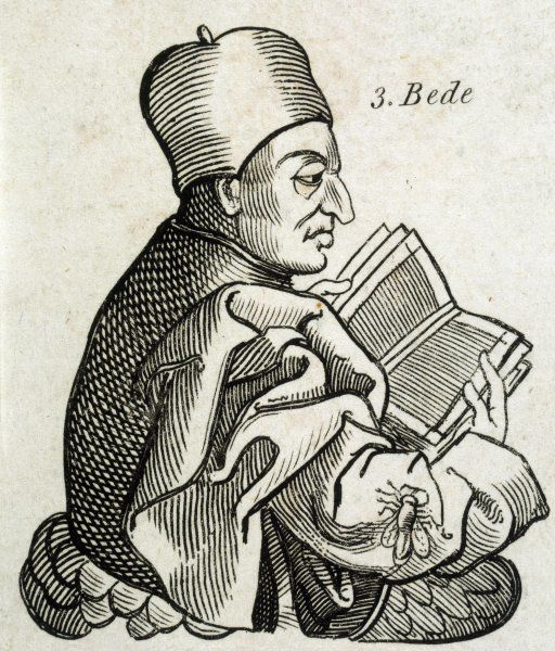 SAINT BEDE THE VENERABLE Anglo-saxon scholar, historian and theologian